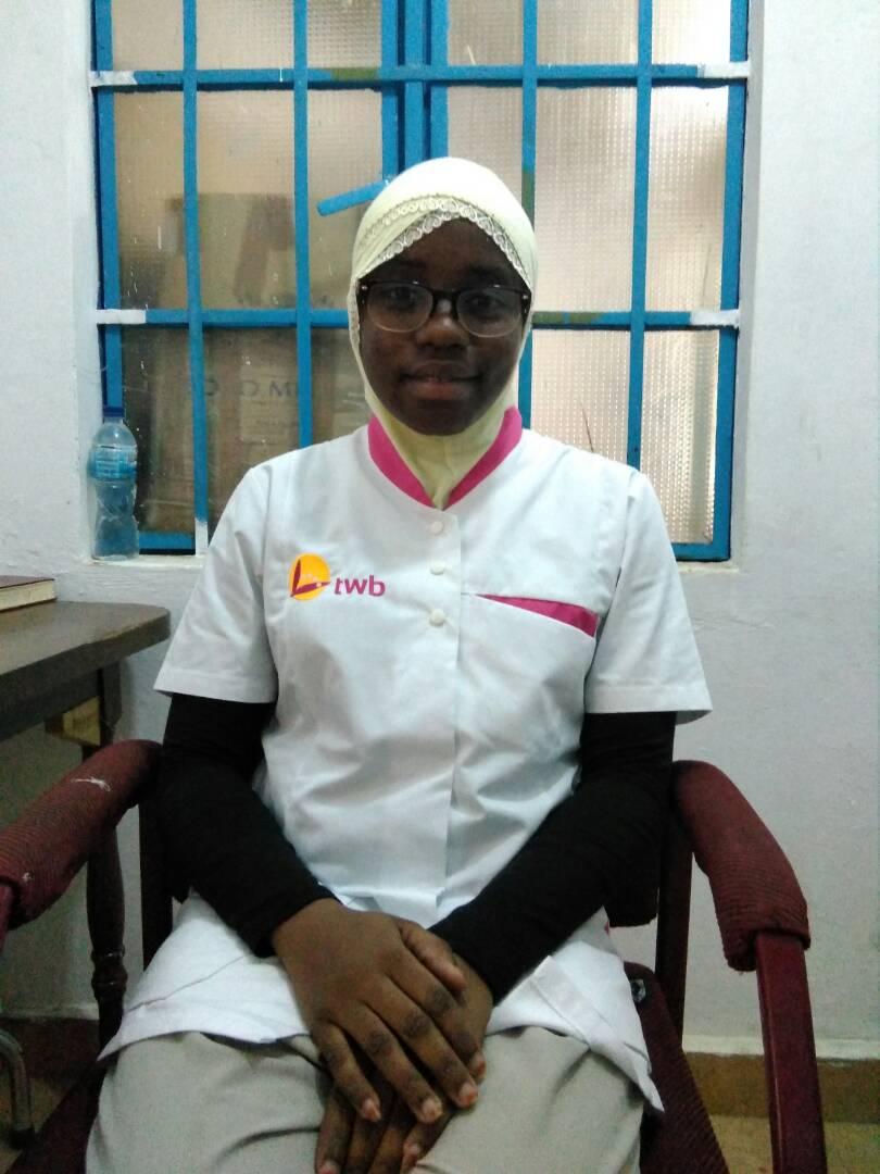 Fatoumata Keita: Enfermera especializada en pediatría